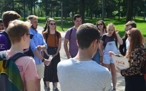 Students and Belgrade quest